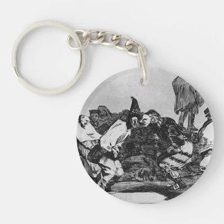 Francisco Goya- Absurdity of Carnival Keychain