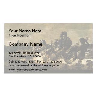 Francisco Goya- Atropos The Fates Business Cards