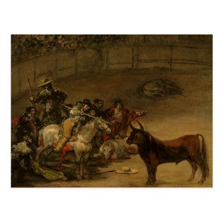 Francisco Goya - Bullfight, Suerte de Varas Postcard