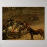 Francisco Goya - Bullfight, Suerte de Varas Poster