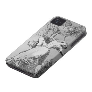 Francisco Goya- Can t anyone untie us iPhone 4 Case-Mate Case