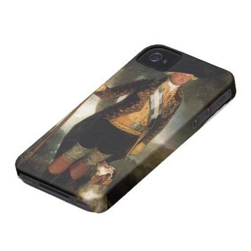 Francisco Goya- King Carlos IV in Hunting Costume Case-Mate iPhone 4 Case