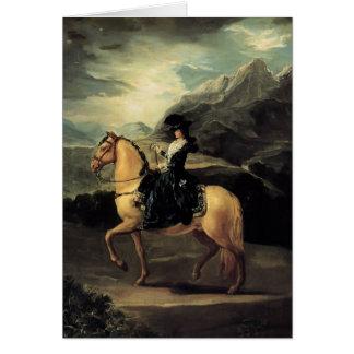 Francisco Goya- Portrait of Maria Teresa Cards