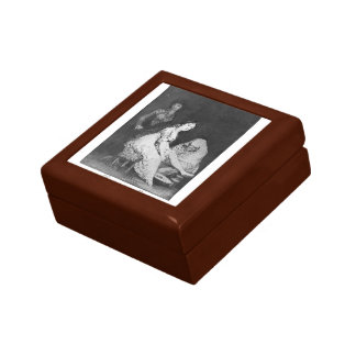 Francisco Goya- She prays for her Jewelry Box