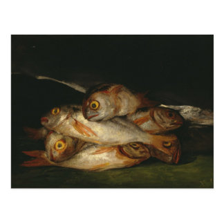 Francisco Goya - Still Life with Golden Bream Postcard