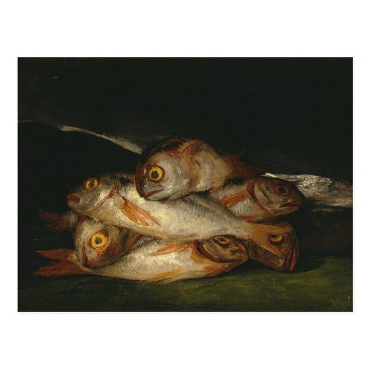 Francisco Goya - Still Life with Golden Bream
