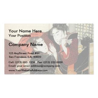 Francisco Goya- Summer, or The Harvest Business Card