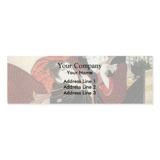 Francisco Goya- Summer or The Harvest Business Card Template