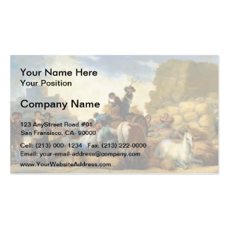 Francisco Goya- Summer, or The Harvest Pack Of Standard Business Cards