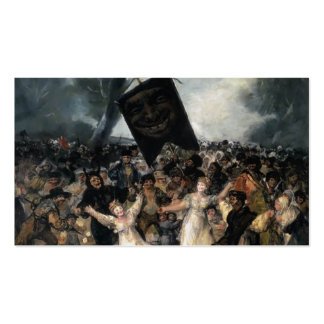 Francisco Goya- The Burial of the Sardine Double-Sided Standard Business Cards (Pack Of 100)