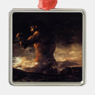 Francisco Goya- The Colossus Christmas Ornament