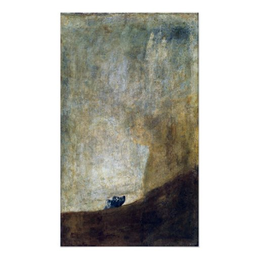 Francisco Goya The Dog Poster