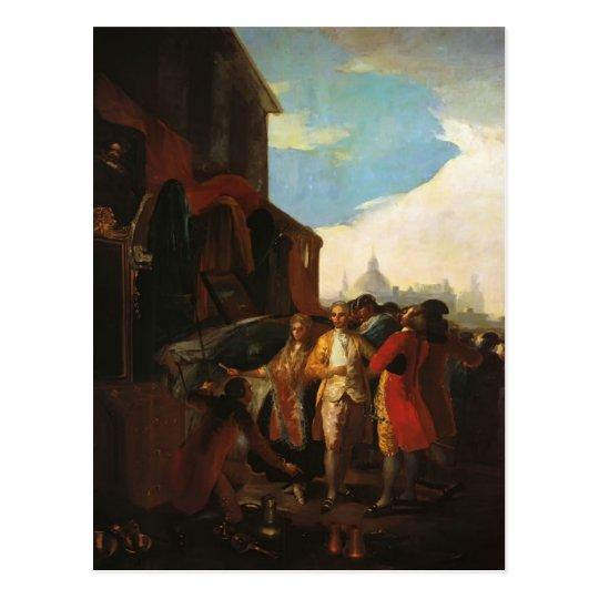 Francisco Goya- The Fair at Madrid Postcard