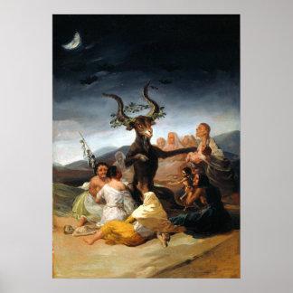 Francisco Goya Witches' Sabbath Poster