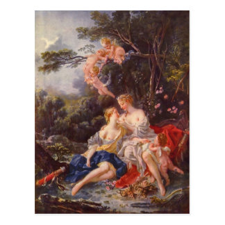 Francois Boucher - Jupiter and Callisto Postcard