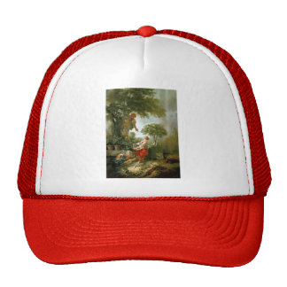Francois Boucher - LandscapewithKirschpflückerin Hats