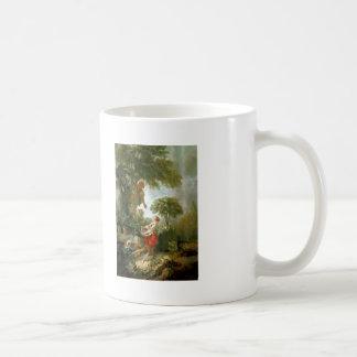 Francois Boucher - LandscapewithKirschpflückerin Mug