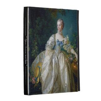 FRANCOIS BOUCHER - MADAME BERGERET portrait art iPad Folio Cover