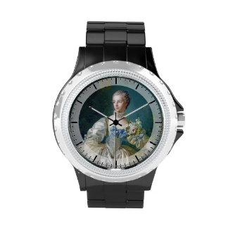 FRANCOIS BOUCHER - MADAME BERGERET portrait art Wristwatches