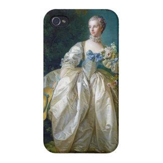 FRANCOIS BOUCHER - MADAME BERGERET portrait art iPhone 4 Case