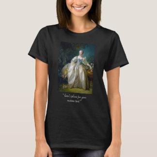 FRANCOIS BOUCHER - MADAME BERGERET portrait art T-Shirt