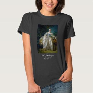 FRANCOIS BOUCHER - MADAME BERGERET portrait art Tshirts