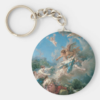 Francois Boucher Paintings Keychains