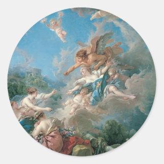 Francois Boucher Paintings Sticker