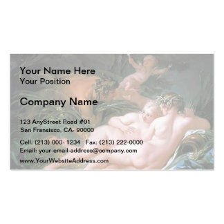 Francois Boucher - Pan and Syrinx Business Cards