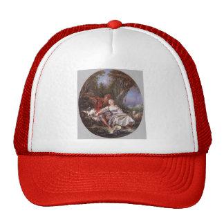 Francois Boucher - Shepherd and Shepherdess Trucker Hat