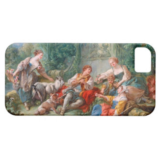 francois boucher shepherd's idyll rococo scenery iPhone 5 case