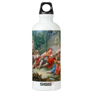 francois boucher shepherd's idyll rococo scenery SIGG traveller 0.6L water bottle