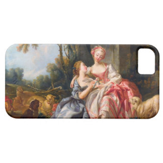 Francois Boucher The Billet Dou rococo ladies art iPhone 5 Covers