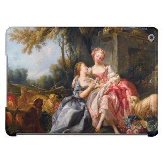 Francois Boucher The Billet Dou rococo ladies art iPad Air Case
