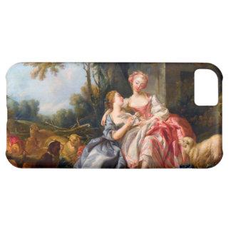 Francois Boucher The Billet Dou rococo ladies art iPhone 5C Case