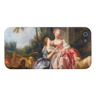 Francois Boucher The Billet Dou rococo ladies art iPhone 5/5S Cover