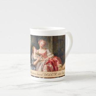 Francois Boucher The Billet Dou rococo ladies art Bone China Mug