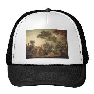 Francois Boucher - The Bridge Mesh Hats