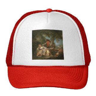 Francois Boucher - The interrupted sleep Hats