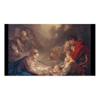 Francois Boucher - The Light of the World Business Card Template