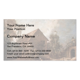 Francois Boucher - The Mill Business Card Template