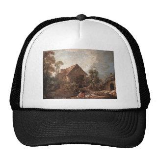 Francois Boucher - The Mill Mesh Hats