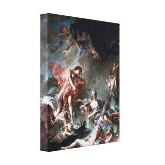 Francois Boucher - Toilet of Venus Canvas Prints