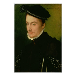 Francois de Valois , Duke of Alencon, 1560s Poster