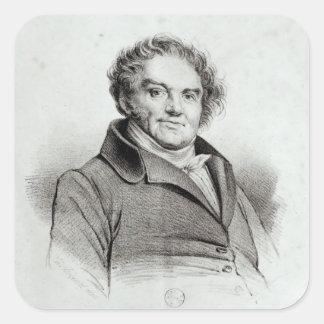 Francois Eugene Vidocq Square Sticker