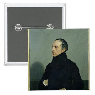 Francois Guizot 15 Cm Square Badge