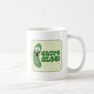 Francois the Cucumber Basic White Mug