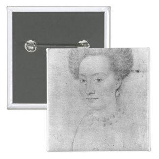 Francoise de Montmorency 15 Cm Square Badge