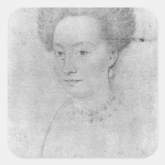 Francoise de Montmorency Square Sticker