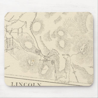 Franconia, Lincoln, Woodstock Mouse Mat